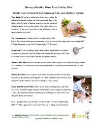 11 cook your thanksgiving turkey germ free