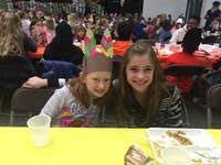 thanksgiving feast held at local christian school plainfield il