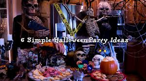 dollar tree halloween background 6 simple halloween party ideas youtube