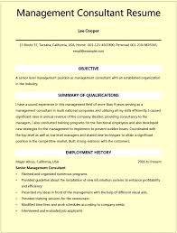 simple resume exles for management consulting resume exles for microsoft word