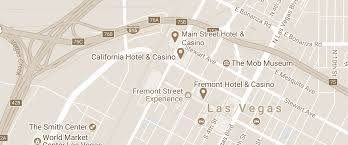 Las Vegas Hotel Map Book Hotel Reservations In Downtown Las Vegas Main Street Hotel