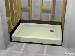 Bathroom Construction Steps Diy Walk In Shower Step 2 Lining We May Need This If When We
