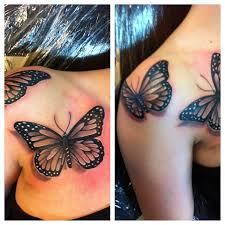 realistic erfly tattoos tattoo collections