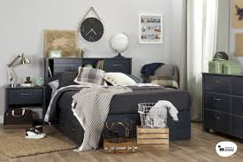 Bedroom Furniture Bookcase Headboard by Bedroom Furniture Queen Headboard Full Storage Bed With Bookcase