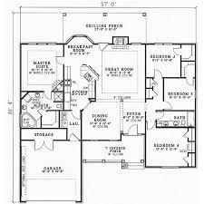 1 Story 4 Bedroom House Floor Plans 27 Best House Plans Images On Pinterest House Floor Plans Dream