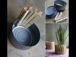 diy home decorations diy home decor tuna can to modern plant decoration