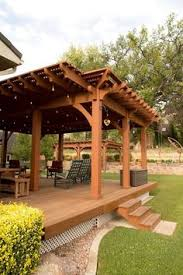 Diy Pergola Kits by A Timber Frame Cantilever Roof Featured On A Timber Frame Diy