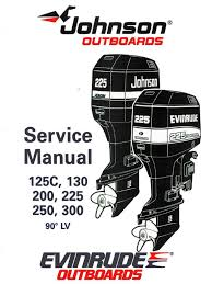 1995 johnson evinrude 125 300 90 lv service manual pdf cylinder