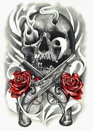 34 best dead skull with rose and crown images on pinterest draw