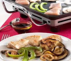 cuisiner au teppanyaki teppanyaki de poulet aux petits légumes colruyt