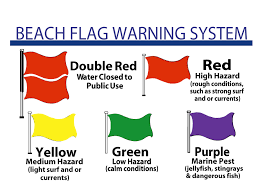 Florida Map With Beaches by Destin Florida Beach Safety And Flag System