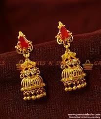 danglers earrings design er418 danglers ear ring peacock cubic zircon party