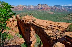 Arizona scenery images The scenic hike to devil 39 s bridge an amazing natural bridge in jpg