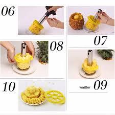 cutter de cuisine shop stainless steel fruit pineapple cutter spiral corer