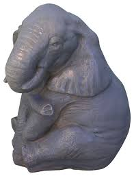 elephant garden statue asian garden statues and yard by