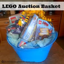 lego auction gift baskets for school fundraiser auction school
