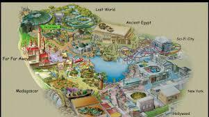 Universal Studios Hollywood Map Universal Studio Singapore Yaaay Lets Escape