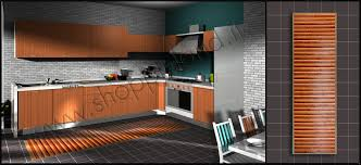 tappeti cucina on line tappeti in bamboo arredano la tua cucina scontati tronzano