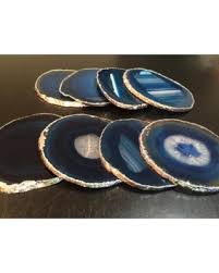 agate coasters don t miss this deal on agate coaster blue agate coasters