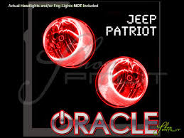 Automotive Led Lights Bulbs by 07 16 Jeep Patriot Led Halo Rings Head Fog Lights Bulbs
