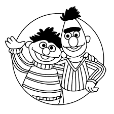 bert and ernie coloring pages coloring pages bert and ernie for