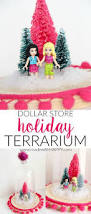 dollar store holiday terrarium made with happy