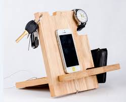 diy charging dock wood iphone docking station charging dock minimalist desk design