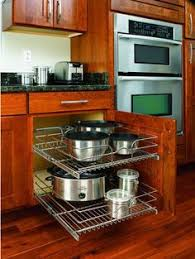 kitchen cupboard organizers ideas lowes pot organizer for your tiny kitchen click through for