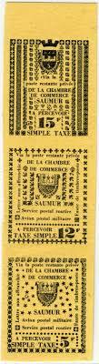 chambre de commerce saumur timbres de greve chambre de commerce de saumur 1953