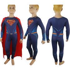 Halloween Jumpsuit Costumes Kids Boys Batman Superman Dawn Justice Superman Bodysuit