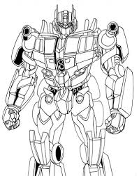 optimus prime printable coloring pages eson me
