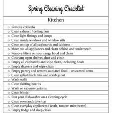 spring cleaning checklist living room organise it all