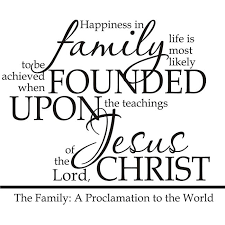 family proclamation design on style a family proclamation religious vinyl wall