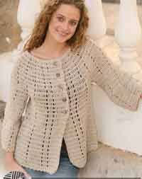 s sweater patterns jacket in muskat with 3 4 sleeves click on the site the pattern