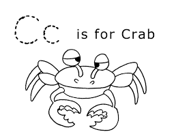 letter c coloring page letter c coloring pages for preschoolers