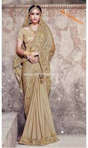 sari mariage sari mariage marciya wedding saree gold satin