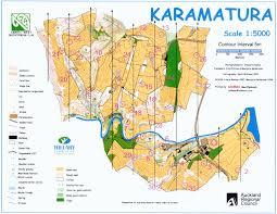 Choice Map Gchbtz Karamatura Orienteering Auckland Unknown Cache In North