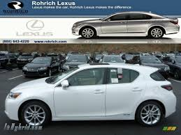 lexus hybrid ct200h 2013 2013 lexus ct 200h hybrid in starfire white pearl 136626