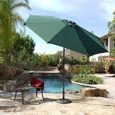 Aluminum Patio Umbrellas by 9 Ft Aluminum Outdoor Patio Garden Umbrella Market Yard Beach