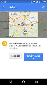Offline Google Maps Google Maps Bereich Herunterladen Offlinerouten Ab Sofort