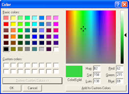Window Color Farben Set by Windows How To Enter Hex Colour Values In Excel Super User