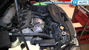 nissan altima coupe hp how to install replace engine water pump 2002 06 2 5l nissan