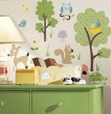 kinderzimmer garderobe wandtattoo natur baum garderobe deko baum kreatif von zu hause