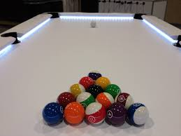 Snooker Cushions Who Makes This Pool Table With Lights Under The Cushions