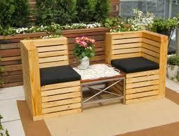 Pallet Furniture Patio - the best pine pallet furniture patio natural color wooden pallet