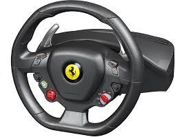458 italia thrustmaster thrustmaster 458 italia edition racing wheel