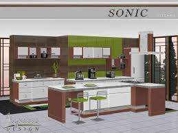 Sims 3 Kitchen Ideas Nynaevedesign S Sonic Kitchen Sims 3 Original Links