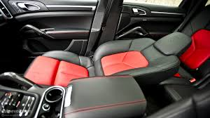 Porsche Cayenne Red Interior - porsche cayenne diesel review autoevolution