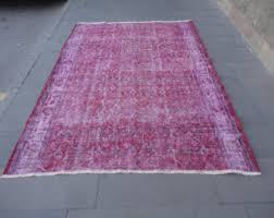 Over Dyed Distressed Rugs Overdyed Rugs Etsy