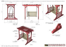 swing arbor plans garden arbor swing plans sw100 arbor swing plans construction garden
